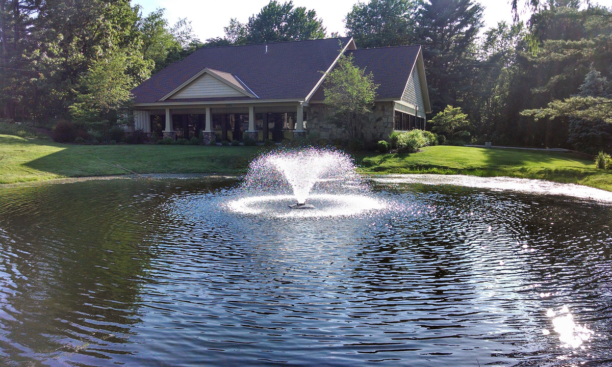 Image result for Beautify and Protect Your Pond Using Fountains and Aerators