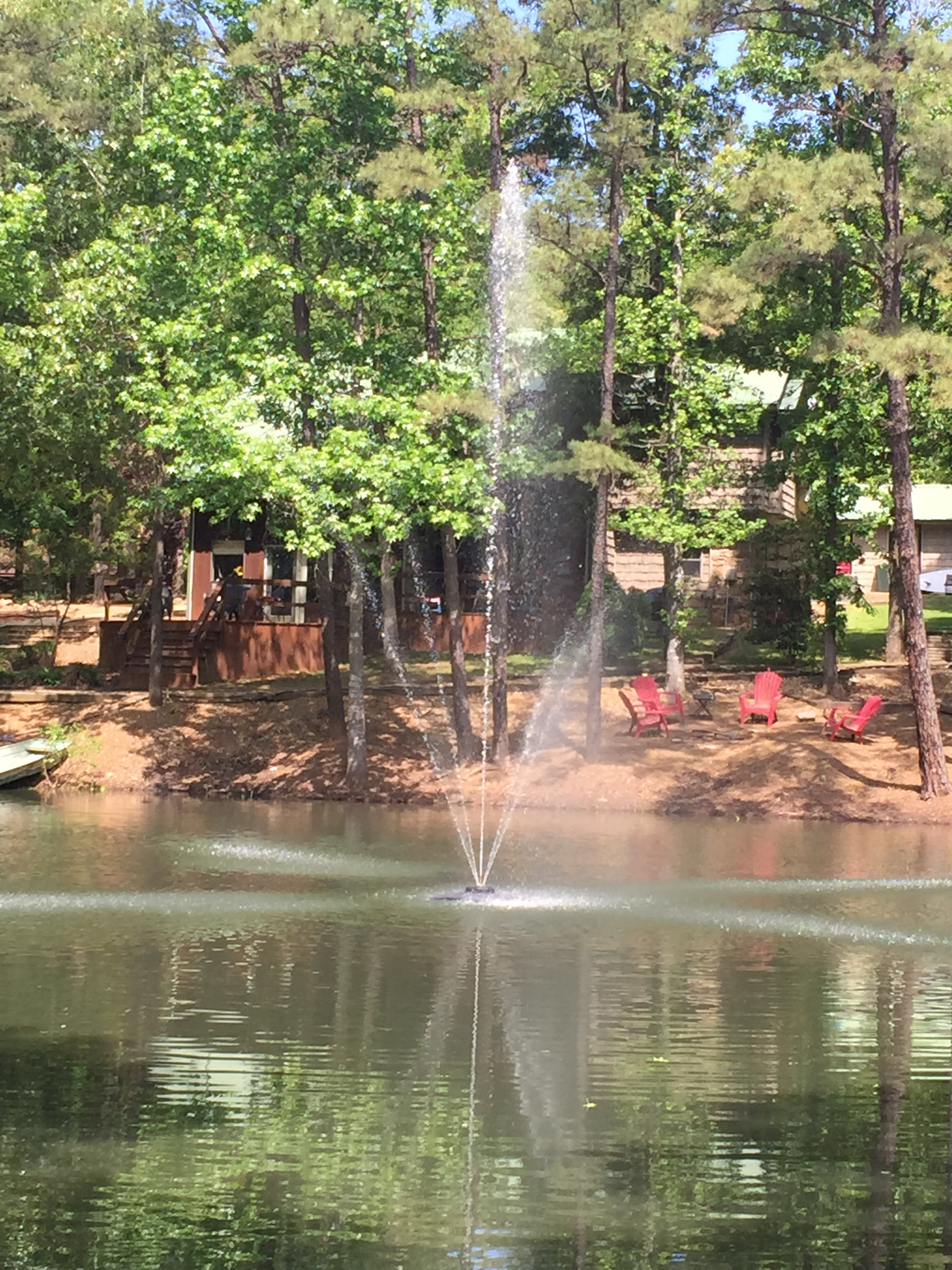 customer photo 19 floating pond fountains & floating lake fountains